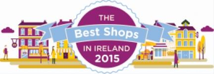 Irish Times Best Shop Award 2015