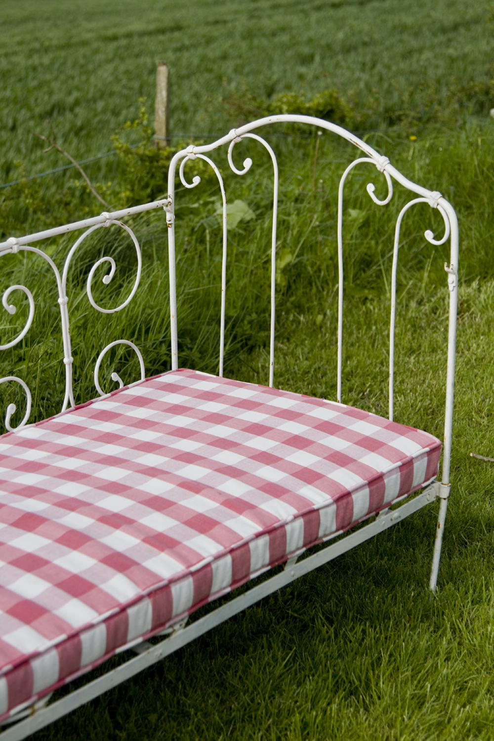 French Antique Child's Day Bed or Cot