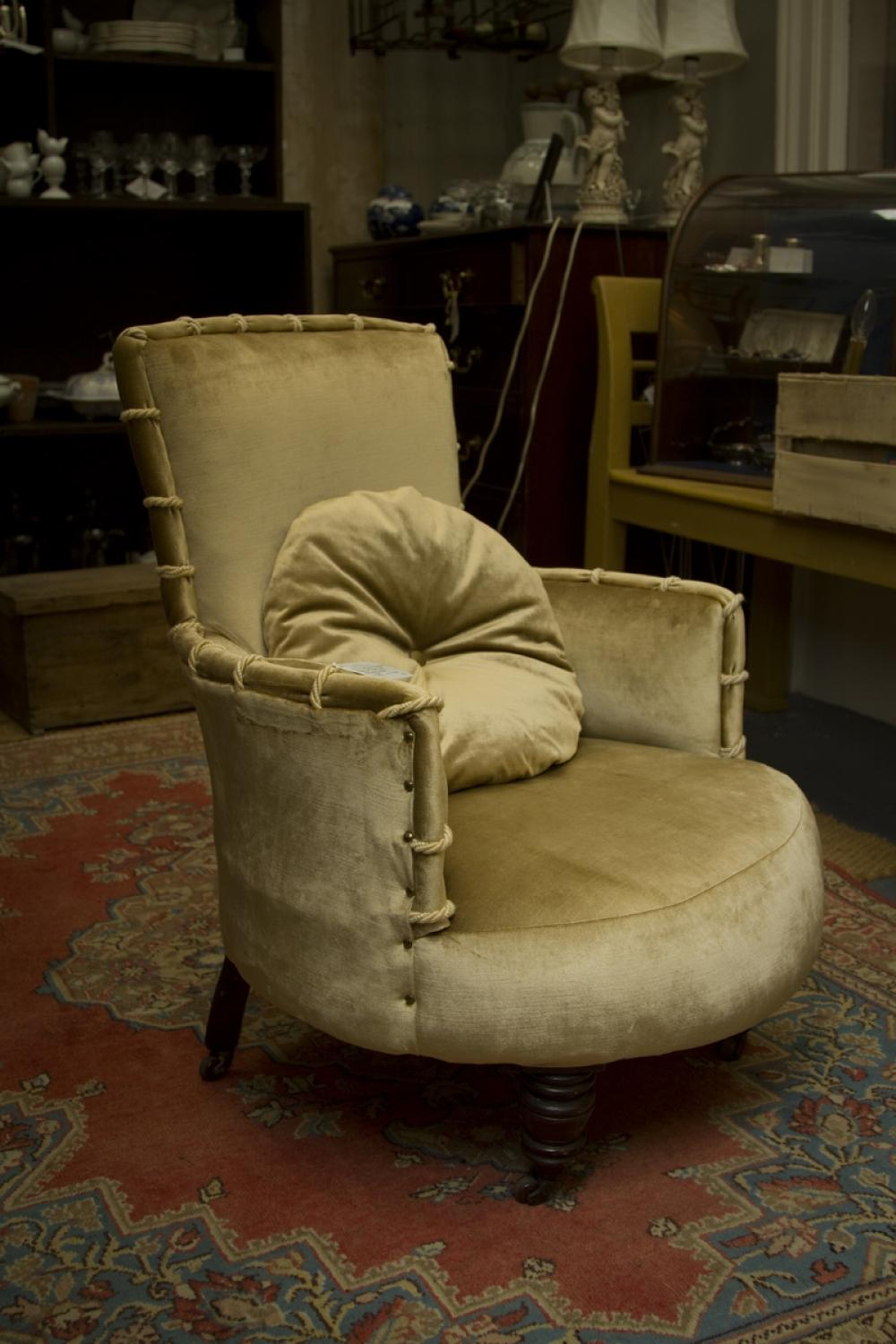 ... Victorian Occasional Chair   Picture 2 ...