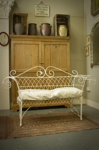 Victorian Wirework Bench