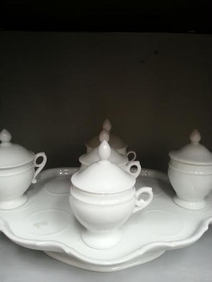 Petit pots de cr'eme / little pots of cream