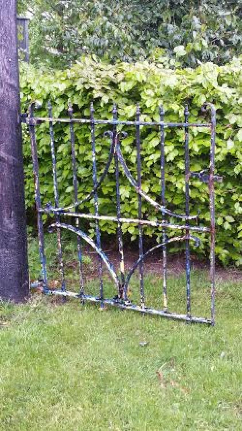 Victorian Cast Iron Garden Gate