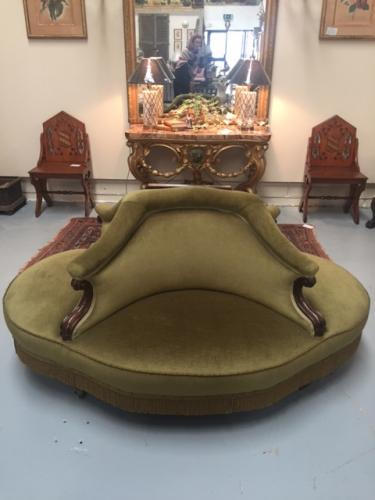 William IV Conversation Seat