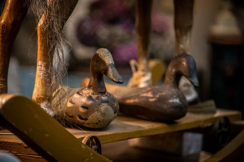 Quack, Quack Antique Wooden French Decoy Duck