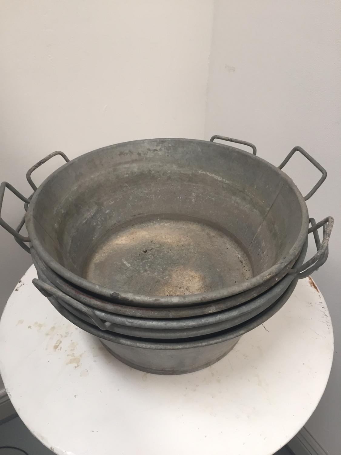 Zinc Basins (5 in total)