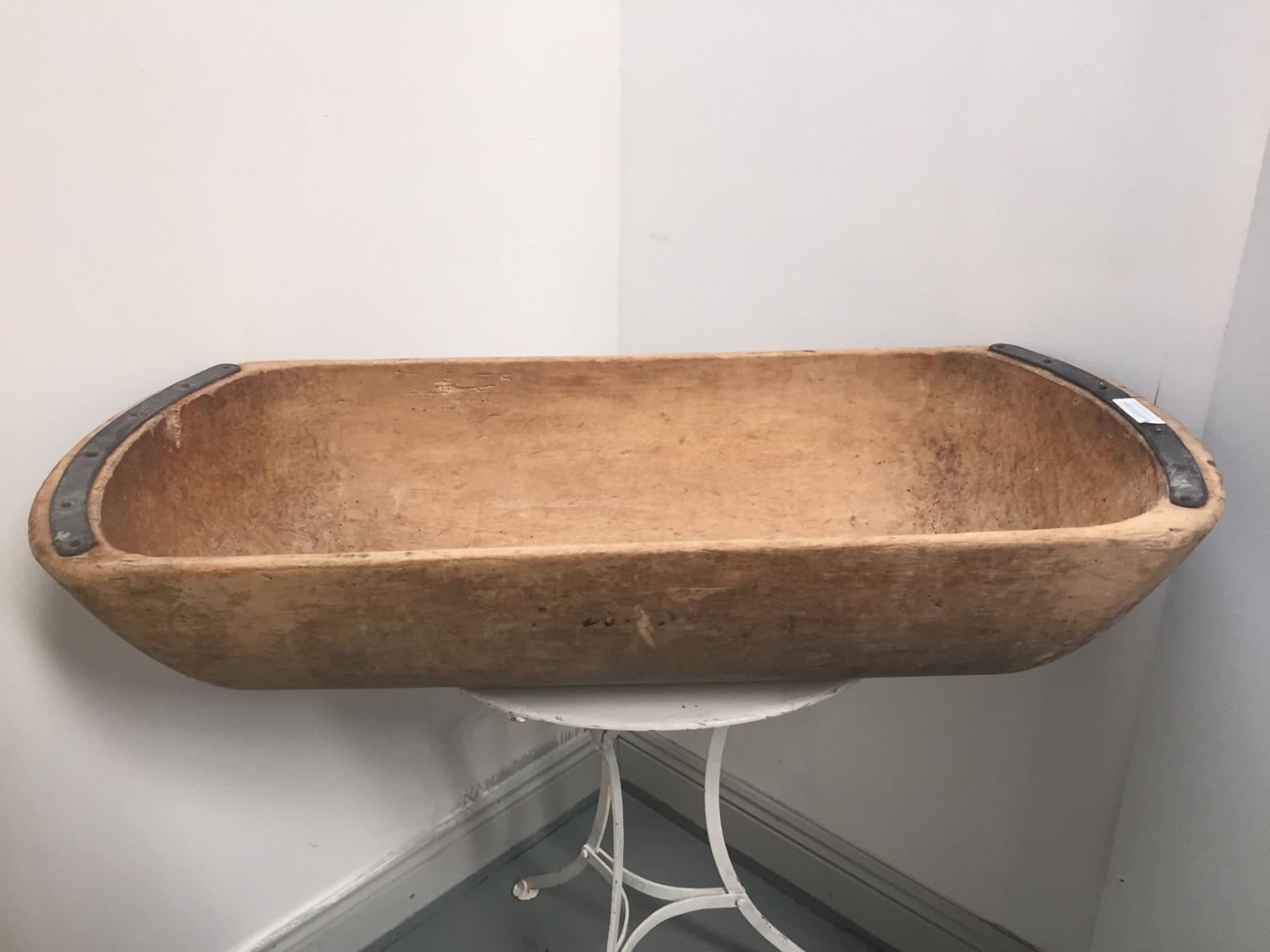 19thC Dough Bowl