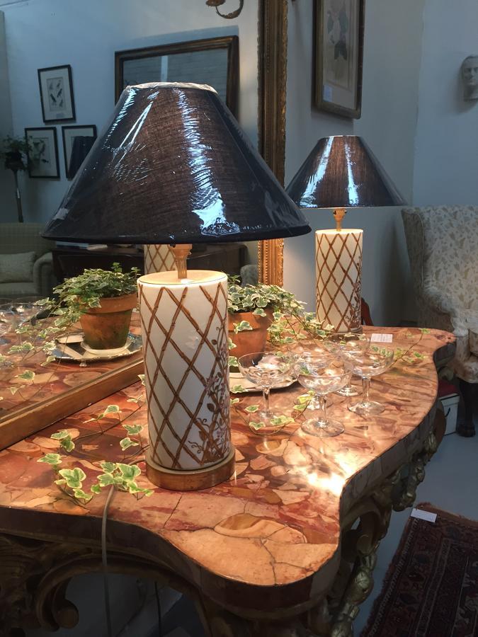 Ceramic Lamps 1980s