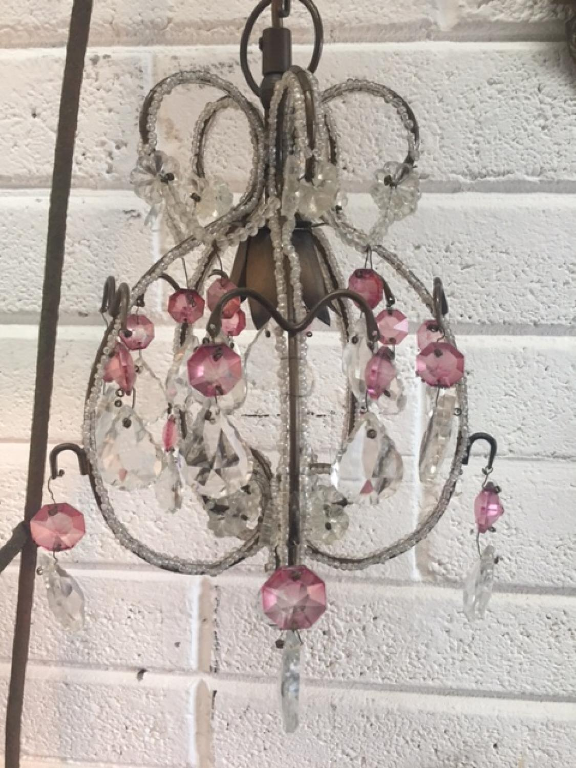 Crystal Chandelier Light Fitting