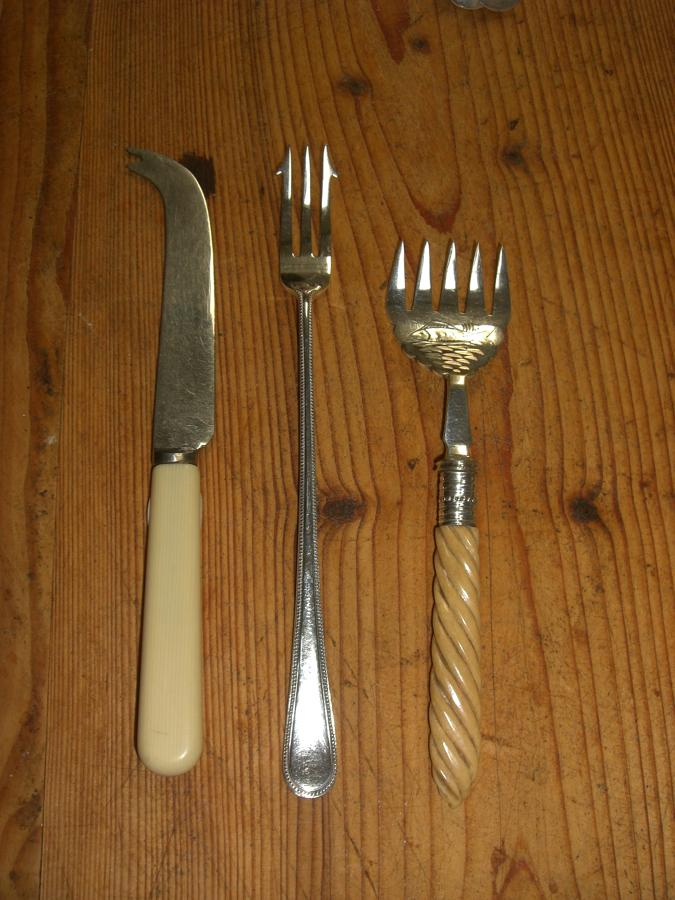 Selection of Vintage Serving Forks
