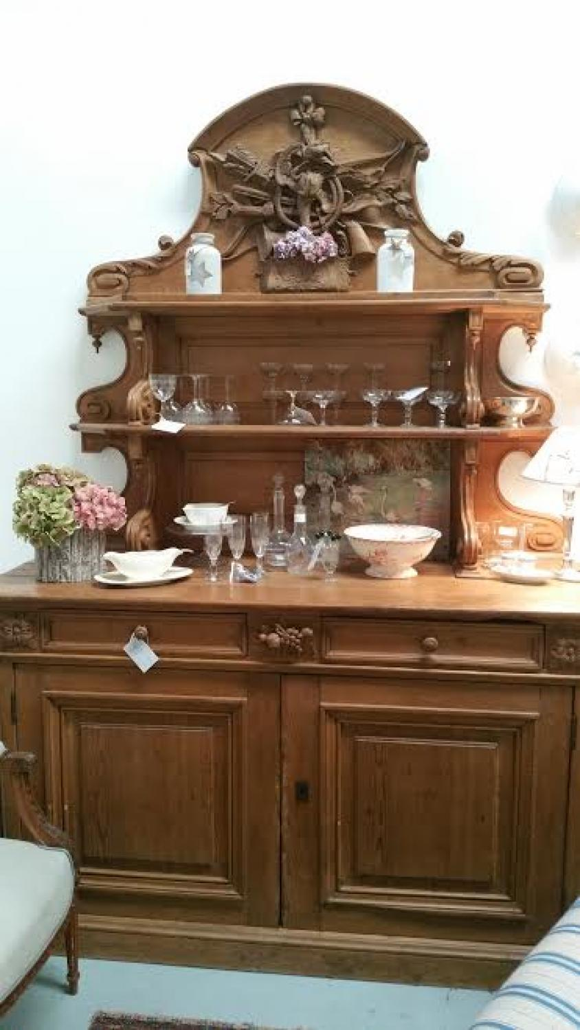 Antique French Hunting Buffet c.1840