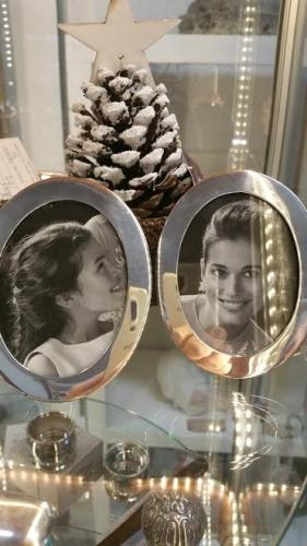 Pair of dinky Sterling Silver Frames