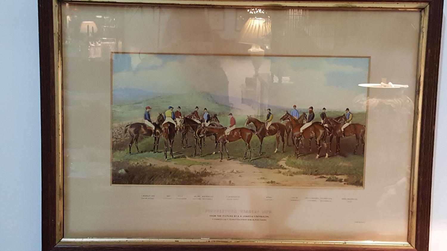 Antique Punchestown Print Winners 1879