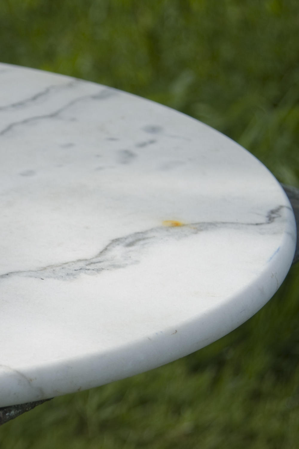Antique French Marble top bistro table