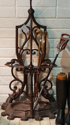 Large Cast Iron Stick Stand