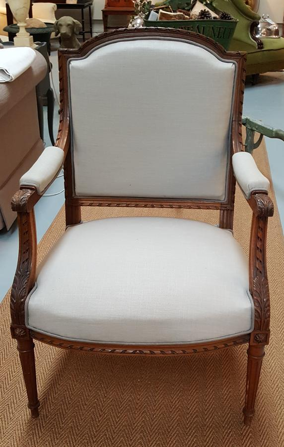 Antique French Occasional Chair