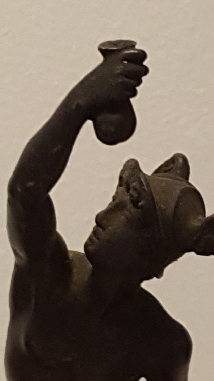 Bronze Statue of Mercury on marble base