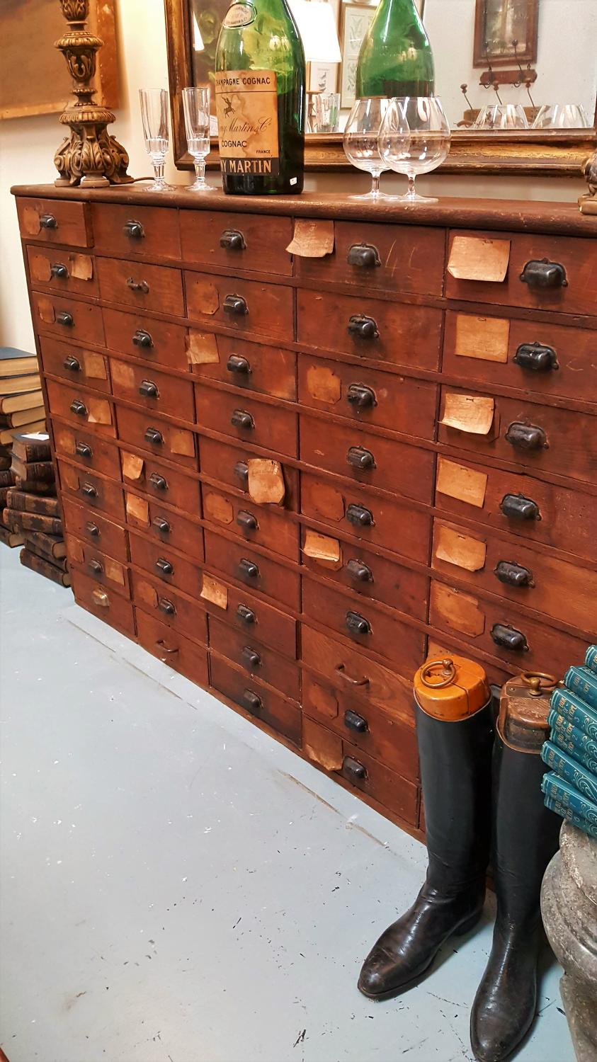 French Industrial Bank of drawers