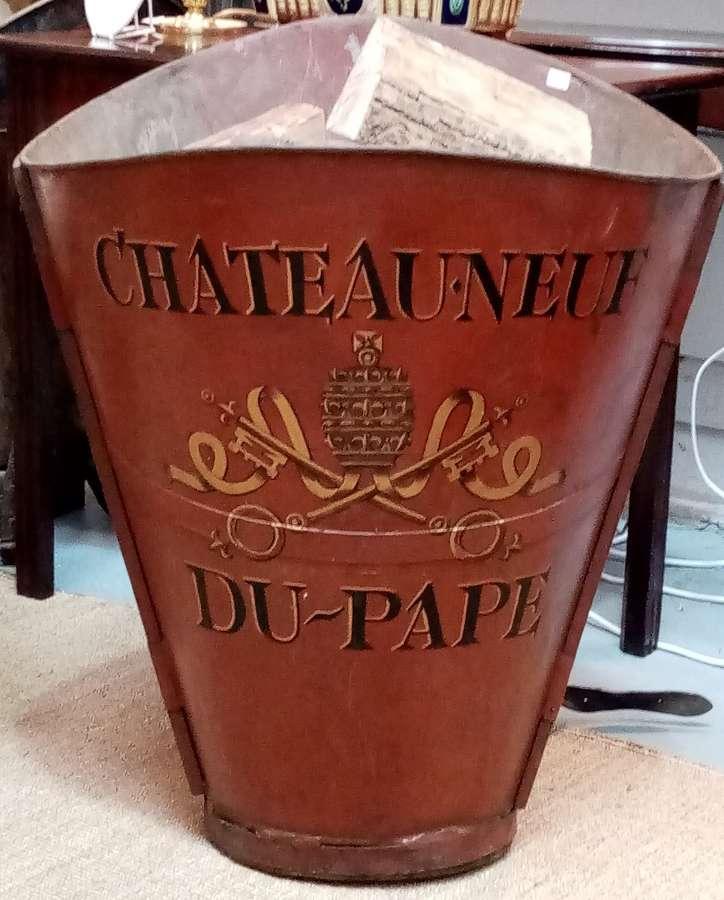 Chateauneuf du pape painted grape hod